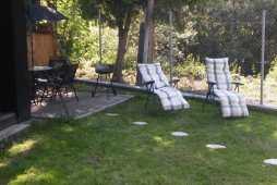Chalupa Pohoda Demänová - záhrada, grill